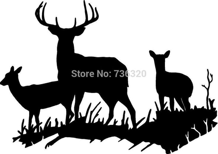 Pin On Deer Hunting Silhouettes Vectors Clipart Svg