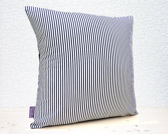Handmade 16x16 Cotton Cushion Pillow Cover in by GrannyLovelace
