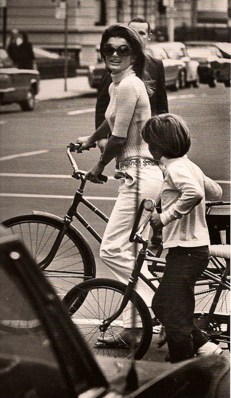 Jackie O - such a gracious, dignified, intelligent woman.  I love how she protected her children.