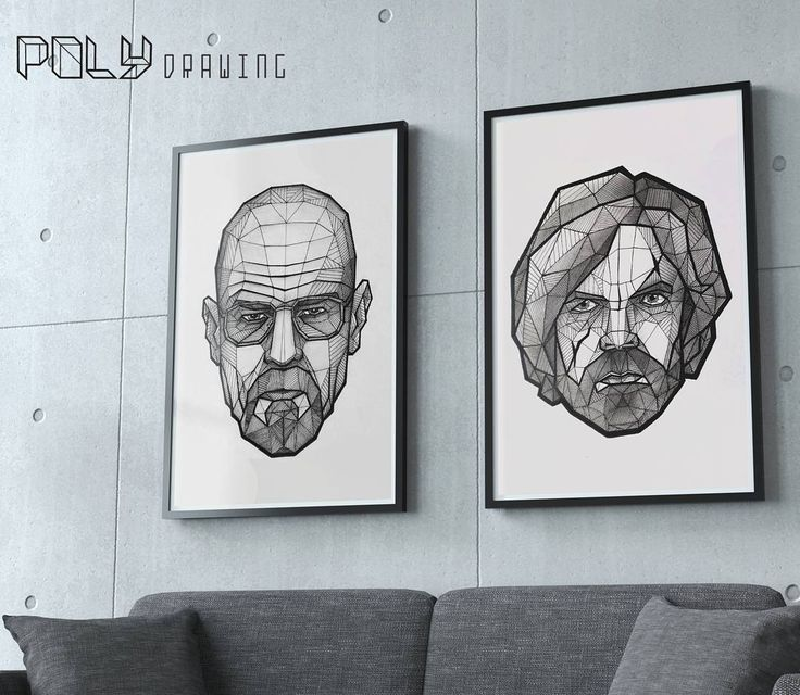Heisenberg and Tyrion Lannister portraits  #artwork #polydrawing #geometric #drawing #illustration #art #juegodetronos #gameofthrones #got #tyrion #tyrionlannister #peterdinklage #actor #javilería #fanart #heisenberg #breakingbad #bryancranston #portrait #retrato #felizmartes #artground #arts_promote  #artistrepost #duende_arts_help #pen #blackandwhite