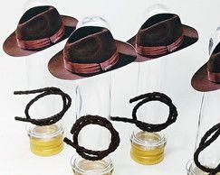 Tubete Personalizado - Indiana Jones