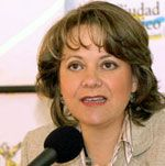 """Martha Delgado, Mexico City's Minister of the Environment Presents Mexico City's Seven Point """"Green Plan.""""  Mexico City, United Nations #3 Urban Agglomeration on the Planet"""