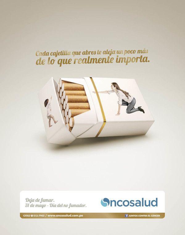 DIA DEL NO FUMADOR (MOT. MAMÁ) on Behance