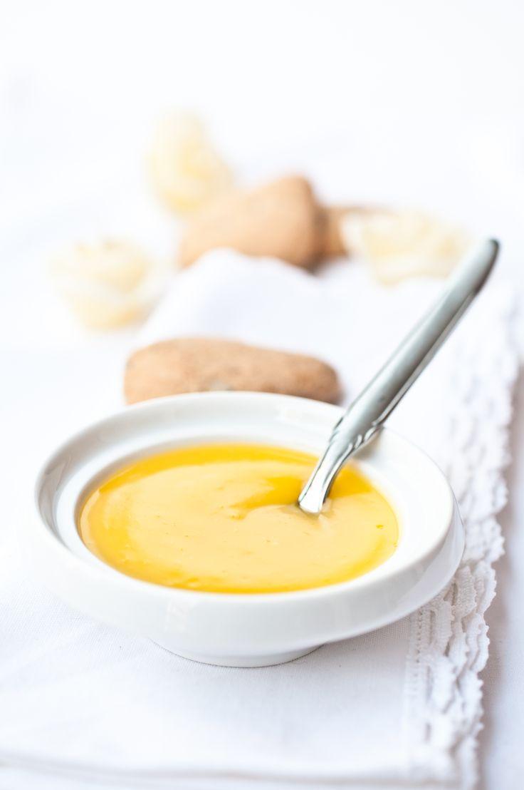 Orange cream si può fare al limone ed è senza latte nè uova, basta sostituire l'olio al burro