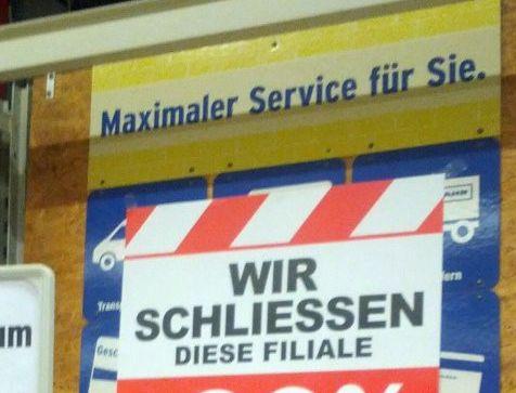 Über diesen Service: | 26 Schilder, über die 2016 keiner auch nur 5 Minuten nachgedacht hat
