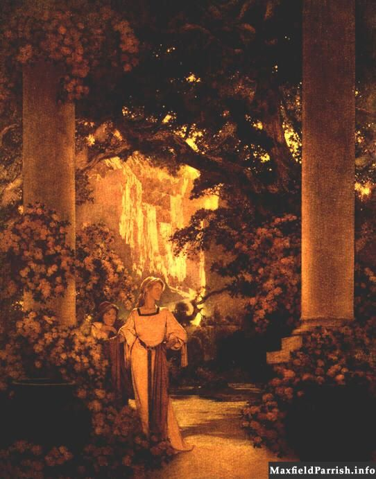 Art History News: Maxfield Parrish at Auction