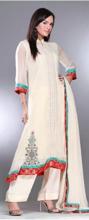 simple Pakistani dress