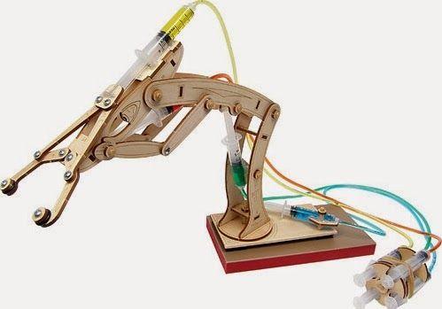 Cara membuat robot arm sederhana ~ Belajar Robot