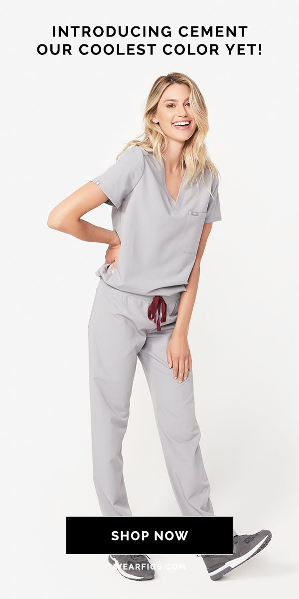 e3a95e3b44a Our brand NEW Seasonal color is here and it's majorly COOL. Shop Cement now  in all Women's Core Scrubs styles. Hurry — they're only here for six weeks!
