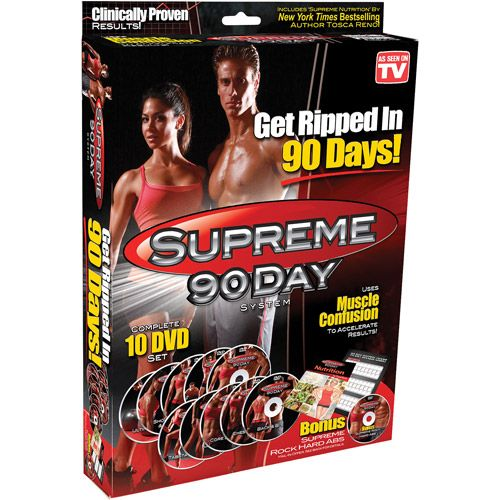 Supreme 90-Day - For those of us who don't have the money for p90x, this identical program is $20