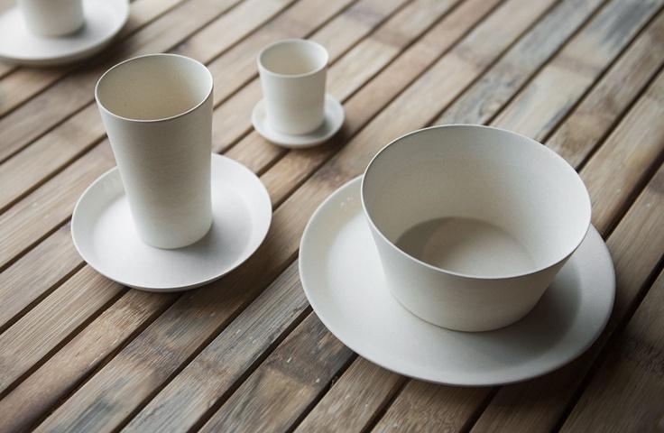 Wit servies met een exclusief matte afwerking - White dinnerware exclusive character - #WoonTheater