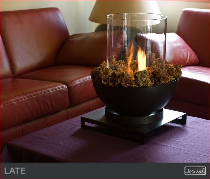 A taki lampion? #biokominek #lampa #salon #mieszkanie