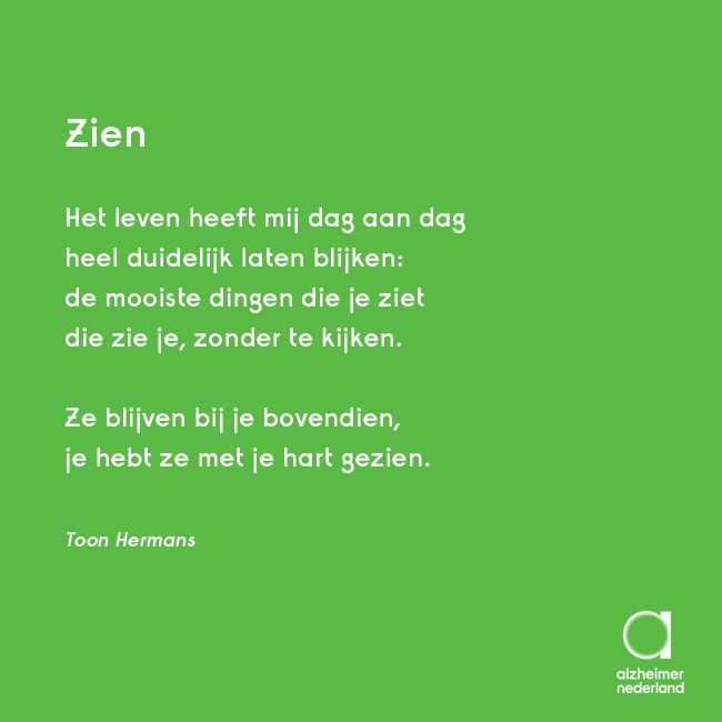 Bekend 59 best Gedichten over dementie images on Pinterest | Poem, Poetry  SC63