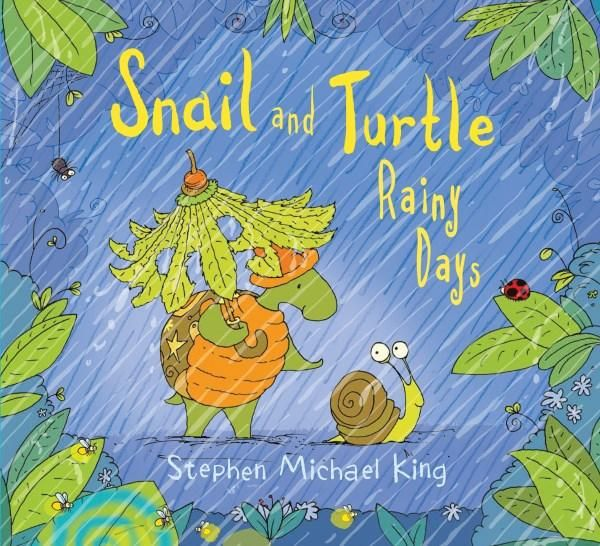 """""""Snail and Turtle Rainy Days"""". The ever-wonderful Stephen Michael King has delivered a beautiful book that reminds children that there will be bad days but with patience and good friends there is joy to be found, even on rainy days. Dedicated to all the Seasons for Growth Team! http://www.booktopia.com.au/snail-and-turtle-rainy-days-stephen-michael-king/prod9781760159061.html"""