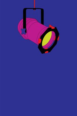 NT 50th Michael Craig-Martin - print