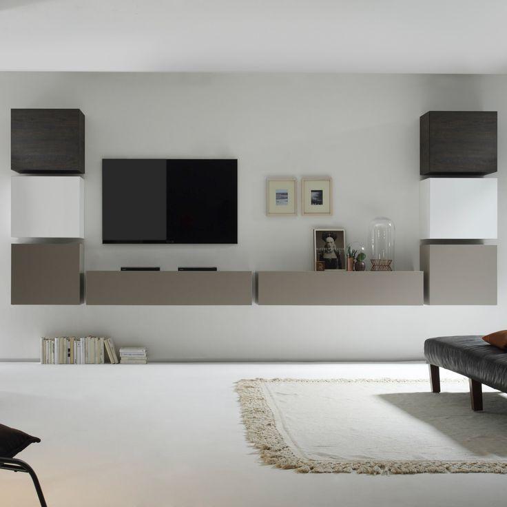 Die Moderne Wohnwand Serie CUBE Steht Fr Ausdruckskraft Und Sthetik