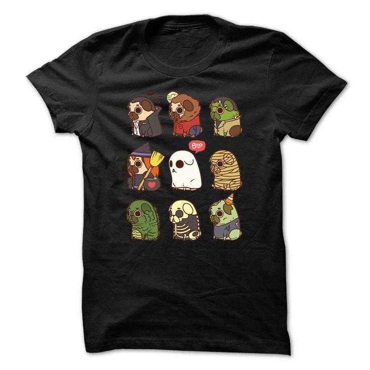 Halloween Puggies Shirt