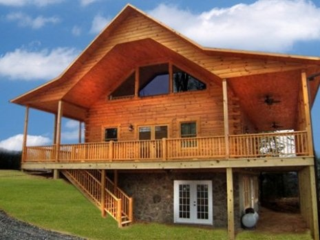 Serenity of the Great Smoky Mountains defined! (Bryson City Cabin Rentals)