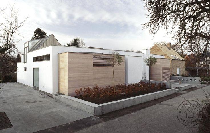 Villa Årstiderne arkitekter arkitekt ombygning moderne arkitektur ...