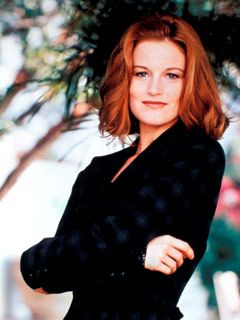 LAURA LEIGHTON as Sydney Andrews in Melrose Place