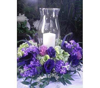 Hurricane Candle Lanterns Candles Arrangements Flower