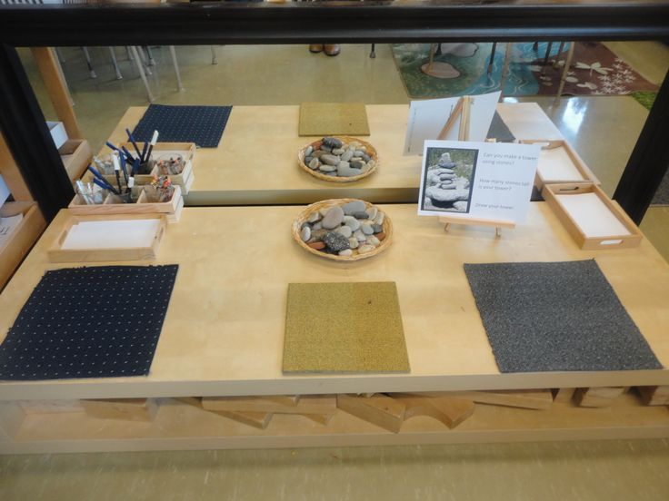 """Invitation to create Stone Towers - from The Curious Kindergarten ("""",)"""