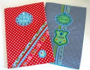 DIY: Umschlag für Schulhefte | DaWanda Blog