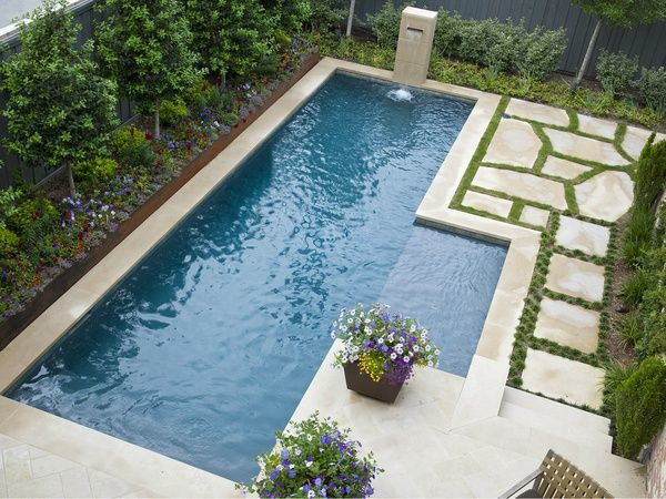 Pool at Dallas custom home