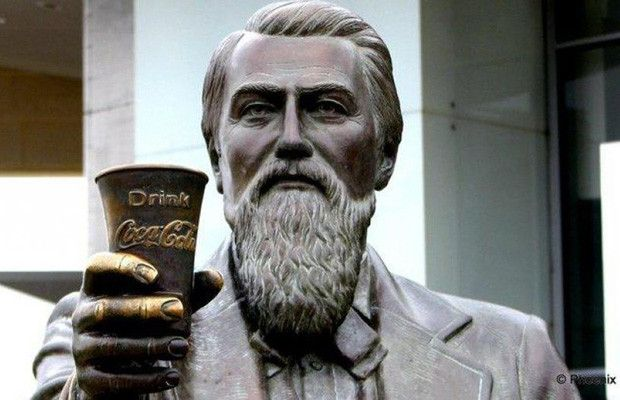 #Coca-Cola-- Invented by Dr. John S. Pemberton in 1886.