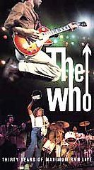THE WHO - THIRTY YEARS OF MAXIMUM R LIVE - VHS TAPE
