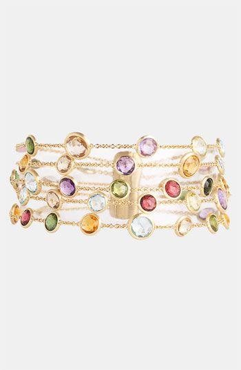 Marco Bicego 'Mini Jaipur' 5-Strand Bracelet available at #Nordstrom