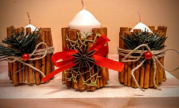 Christmas candles 2