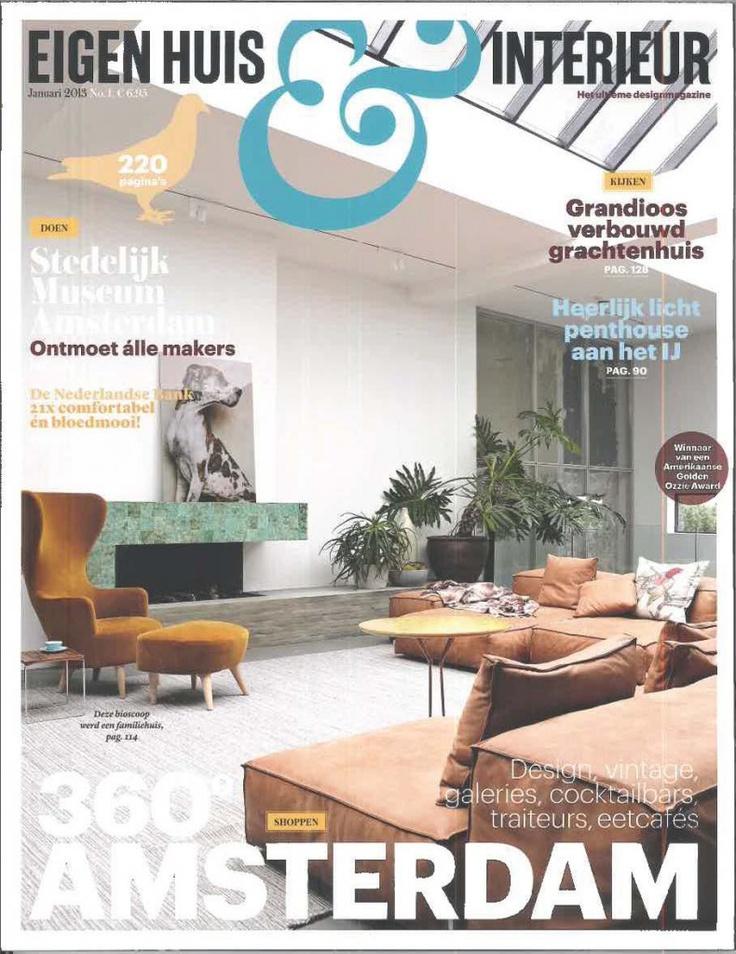 eigen huis en interieur voorkant tijdschriften interieur