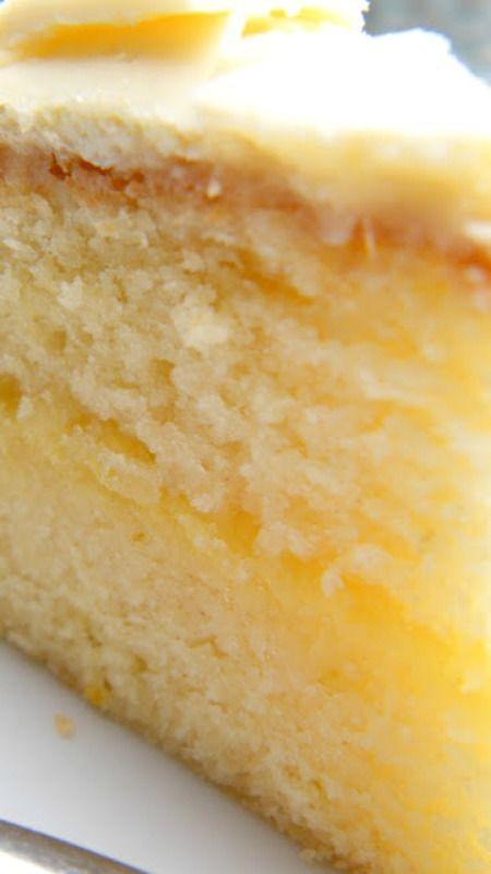 Lemon & White Chocolate Cake Recipe