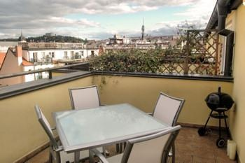 PRAGUE KlimentskaPenthouse Apartment | 2 bedrooms penthouse apartment in the Old Town on 2 floors