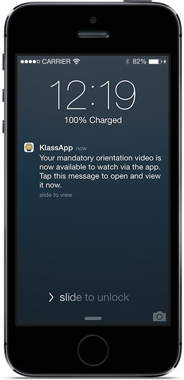 Klass App - A smarter way to engage KLASS App extends your school's operations via your own custom App! www.klassapp.com/ #titanium