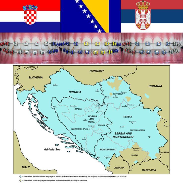 Bracemate is in Serbo-Croatian! Thanks to @sonysnowpony   #Serbian #Croatian #Bosnian #Serbia #Croatia #Bosnia #Herzegovina #Montenegro #Kosovo #Slavic #yugoslavia #stomatolog #ortodont #ortodoncija #braces #dental #dentist #dentistry #app #boja #orthodontist #orthodontics #belgrade #zagreb #sarajevo #podgorica #pristina