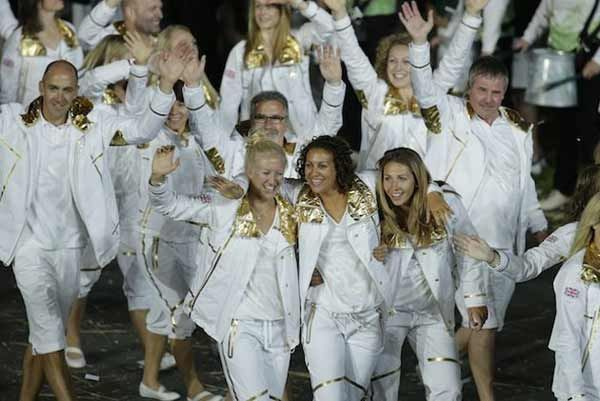 London 2012 Olympics - Stella McCartney Designs For Team GB.
