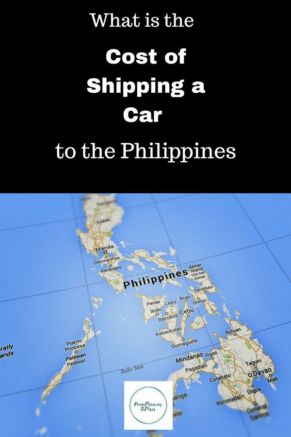 How Much Does It Cost To Ship A Car To The Philippines