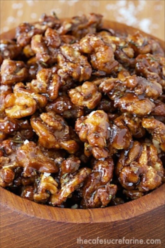 Candied Balsamic Rosemary WalnutsI - f you're nuts about nuts, these ...