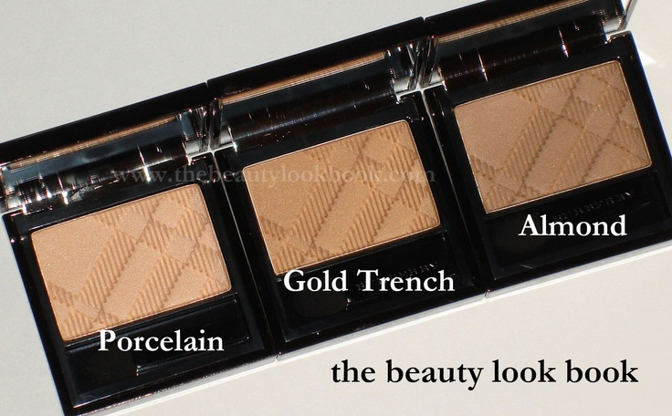 The Beauty Look Book: Burberry Beauty Sheer Eyeshadows (But Not Really All That Sheer)