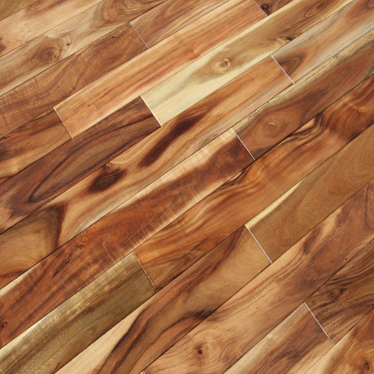 Acacia asian walnut blonde hardwood flooring for Unfinished brazilian walnut flooring
