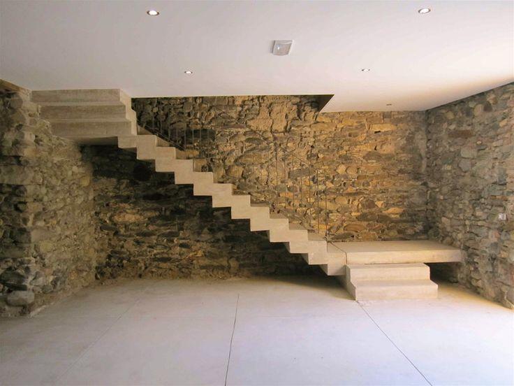 escalier en béton armé de ciment prompt naturel : procédé expérimental