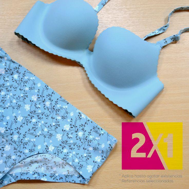 ¿Ya disfrutaste en el mes de la mujer de nuestro 2X1 De Corazón?. Encuentra miles de prendas con encajes, básicos, sin costuras, conjuntos de tres piezas y más. Visita nuestros almacenes en Colombia