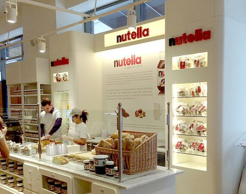 Behold Eataly Chicago's Shiny New Nutella Bar - Whaaaaa? Must try. #nutella #nutellabar