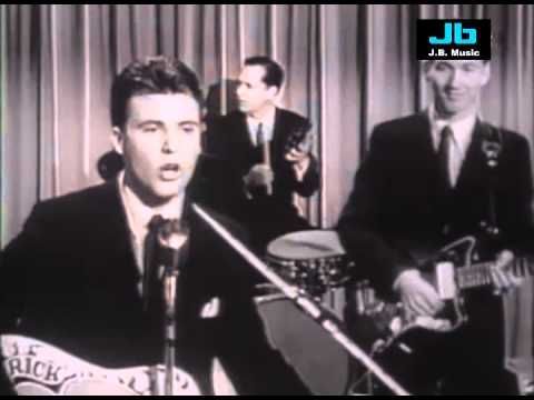 Ricky Nelson - Hello Mary Lou { with solo by James Burton ~ Who Became  Elvis Presleys Guitar Player~ A Little Info Tid-Bit There } ~ ♥