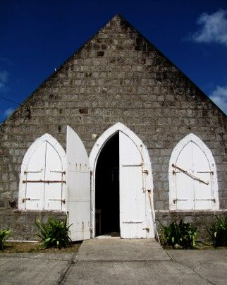 Lowland Church, circa 1643, is the first Anglican Church in the #Caribbean and the oldest church on #Nevis Island   The Washington Post