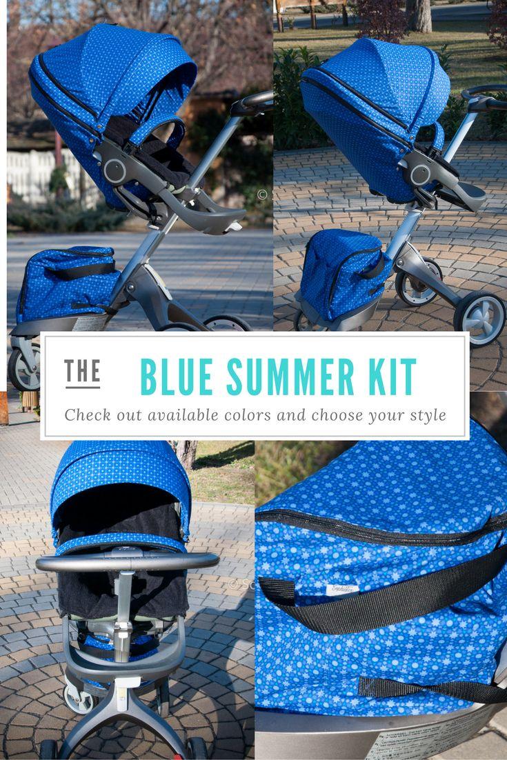 Custom made for a cute boy. Sokke V3 stroller