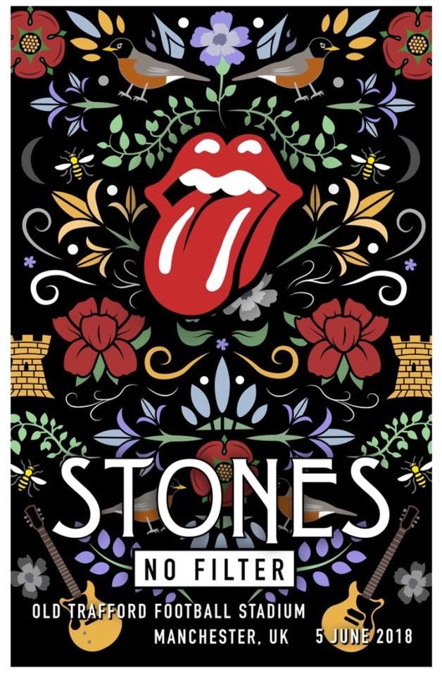 The Rolling Stones - No Filter Tour - Manchester - UK