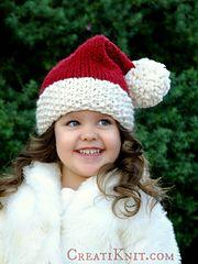 Ravelry: The Santa Cutie Hat pattern by Creati Knit